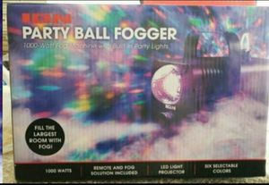 Wireless Remote Party Ball Fogger, w/ 1 Quart Water Based Fog Fluid (Included) for Sale in Fontana, CA