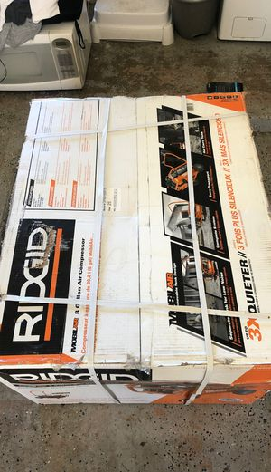 Riggid air compresor new móvil air for Sale in Winter Springs, FL
