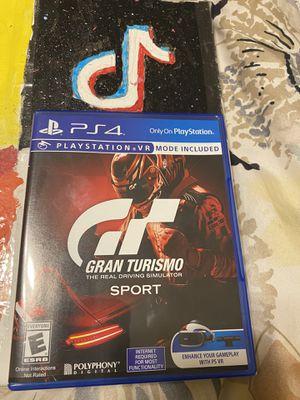 PS4 Grand Turismo for Sale in San Dimas, CA