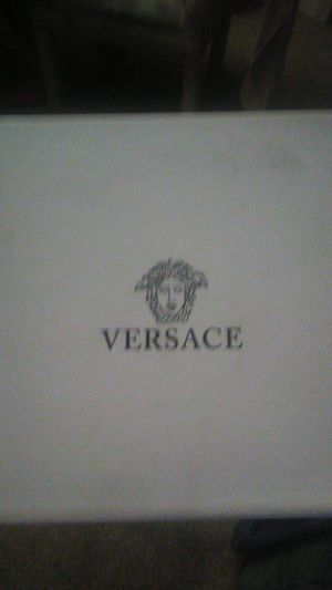 Versace winged medusa gold and black for Sale in Orlando, FL