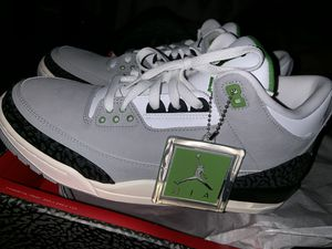 Air Jordan 3 Retro 'Chlorophyll' for Sale in Las Vegas, NV