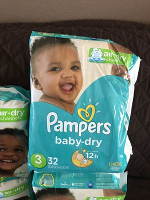 Pampers baby dry for Sale in Escondido, CA