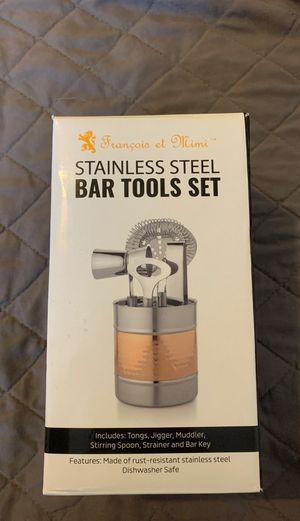 Bar tools set - Stainless Steel for Sale in North Lauderdale, FL