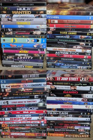 260 DVD movies. All been watched for Sale in Everett, WA