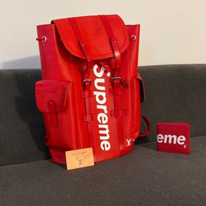 Bag And Wallet Supreme X Louis Vuitton for Sale in Miami, FL