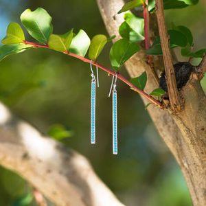 S.S Turquoise Dangle Earrings for Sale in Norfolk, VA