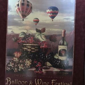 Balloon And Wine Festival/Marilyn Monroe/James Dean for Sale in San Diego, CA