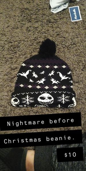 Nightmare before Christmas beanie for Sale in Keizer, OR