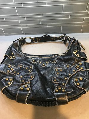 ISABELLA FIORE LEATHER HANDBAG with Hardware for Sale in Scottsdale, AZ