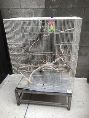 Bird cage w/stand for Sale in Phillips Ranch, CA