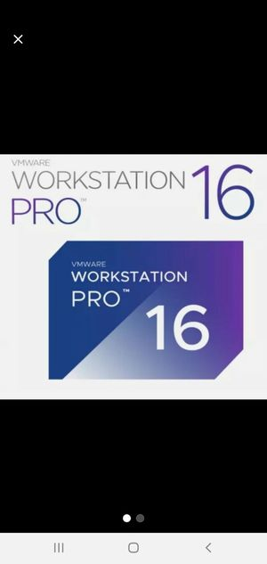 VMWARE Workstation Pro 16 + License for Sale in Martinsburg, WV