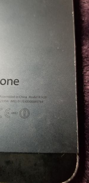 A1428 iphone locked for Sale in Wichita, KS