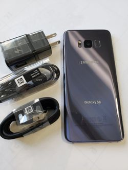 Samsung Galaxy S8 , Unlocked for All Company Carrier, Excellent Condition like New for Sale in Springfield,  VA