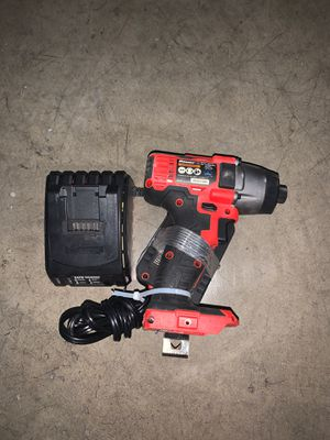 20V Hypermax Cordless 1/4 In. Hex Compact Impact Driver Kit With 1.5 Ah Battery & Rapid Charger for Sale in Cerritos, CA
