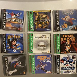 PlayStation 1 Games for Sale in Fairfax, VA
