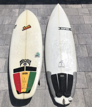 Lost Bottom Feeder & Super Vapors Surfboard Package for Sale in Deerfield Beach, FL