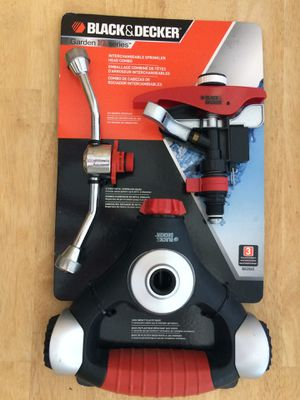 New Black And Decker Interchangeable Sprinkler Head Combo AVAILABLE for Sale in Dunwoody, GA
