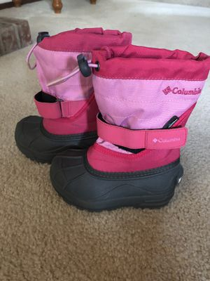 Columbia Girls Snow Boots - Size 8 for Sale in Bothell, WA