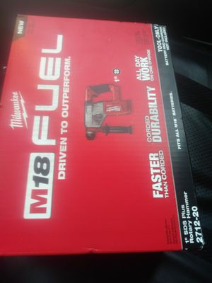 Milwaukee M18 FUEL hammer drill for Sale in Mesa, AZ
