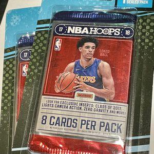 2017-18 NBA Hoops Basketball Card Packs for Sale in Morgan Hill, CA