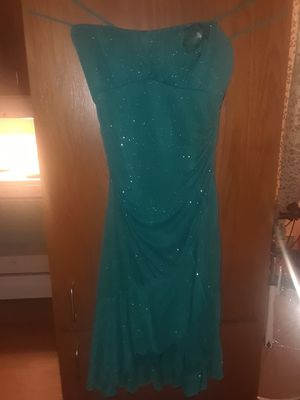 Turquoise sequins dress for Sale in Wenatchee, WA