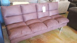 Brown PUFFY Futon for Sale in Phoenix, AZ
