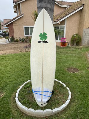 """Surfboard 6'4"""" x 20"""" x 3 (Byron Design) for Sale in Norco, CA"""