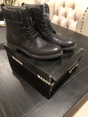 Brand new Steve Madden men's boots size 11 for Sale in Corona, CA