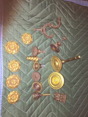 Vintage metal hardware for Sale in Escalon, CA