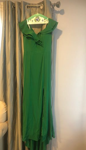 Emerald green dress size 10 for Sale in Los Angeles, CA
