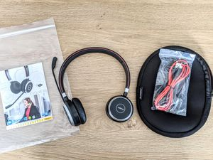 Jabra Evolve 65 wireless headset for Sale in Pittsburgh, PA