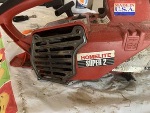 "Homelite Super 2 16"" Chain Saw for Sale in Magna, UT"