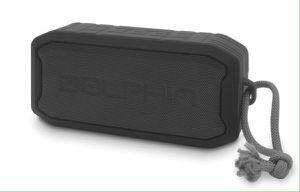 Dolphin Bluetooth Mini Speaker Waterproof with USB Radio 1200 Lithium Battery Bocina Corneta Impermeable DR-20 for Sale in Miami, FL