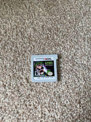 Luigi's mansion 3DS for Sale in Renton, WA