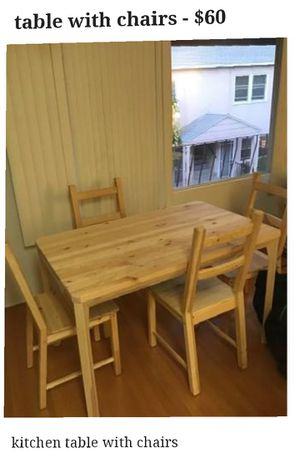 Table + chairs for Sale in Long Beach, CA