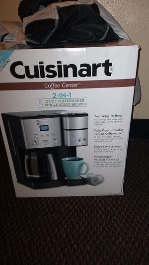 Cuisinart 2 in 1 Coffee Maker for Sale in Seattle, WA