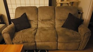 Reclining Sofa *free* for Sale in Pittsburgh, PA