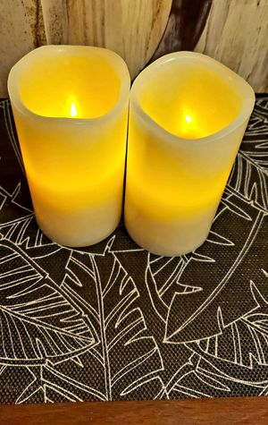 Flameless Candles Pack of 2 for Sale in Denton, TX