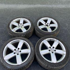 Rims 18 Volkswagen 5 Lugs 112 mm for Sale in Fort Lauderdale, FL