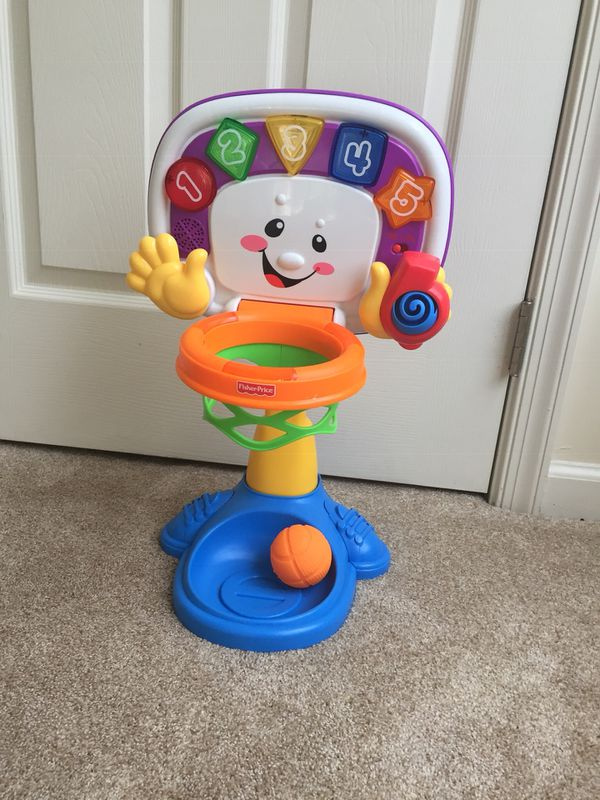 Fisher Price Laugh and Learn Basketball Game
