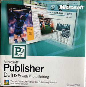 Microsoft Publisher Software CD for Sale in Lynnwood, WA