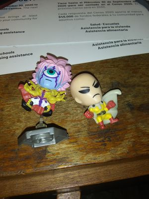 Dragonball z mini figurs and cards for Sale in Houston, TX