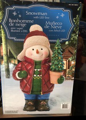 Indoor/Outdoor Snowman Decoration for Sale in Lakewood, CA