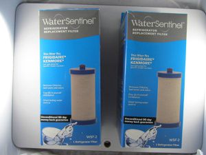 Two Water Sentinel WSF-2 Replacement Filters for Frigidaire & Kenmore for Sale in Bolingbrook, IL