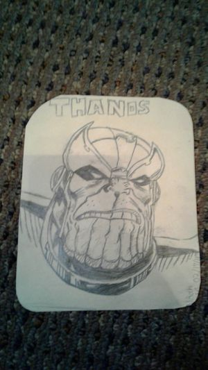 Thanos Drawing for Sale in Saint Joseph, MO