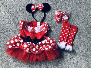 Disney Minnie Mouse Dress and Accessories for Sale in Stafford, VA