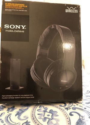 Sony wireless stereo headphone system for Sale in Houston, TX