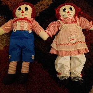Ann and Raggedy Andy vintage dolls for Sale in Phoenix, AZ