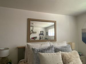 Large Wooden Mirror for Sale in Denver, CO