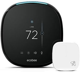 ECOBEE4. ..SMART THERMOSTAT.. with a room sensor and a built-in Alexa voice service for Sale in Newark,  NJ